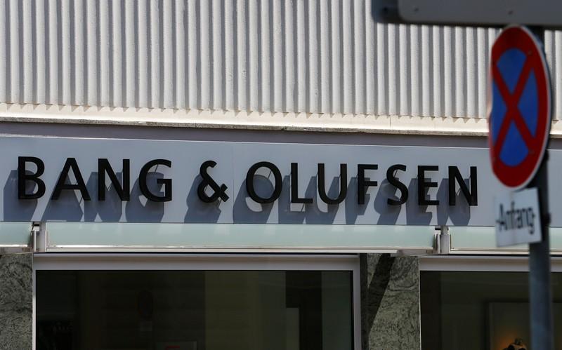 TV and stereo maker Bang Olufsen shares tumble after warning