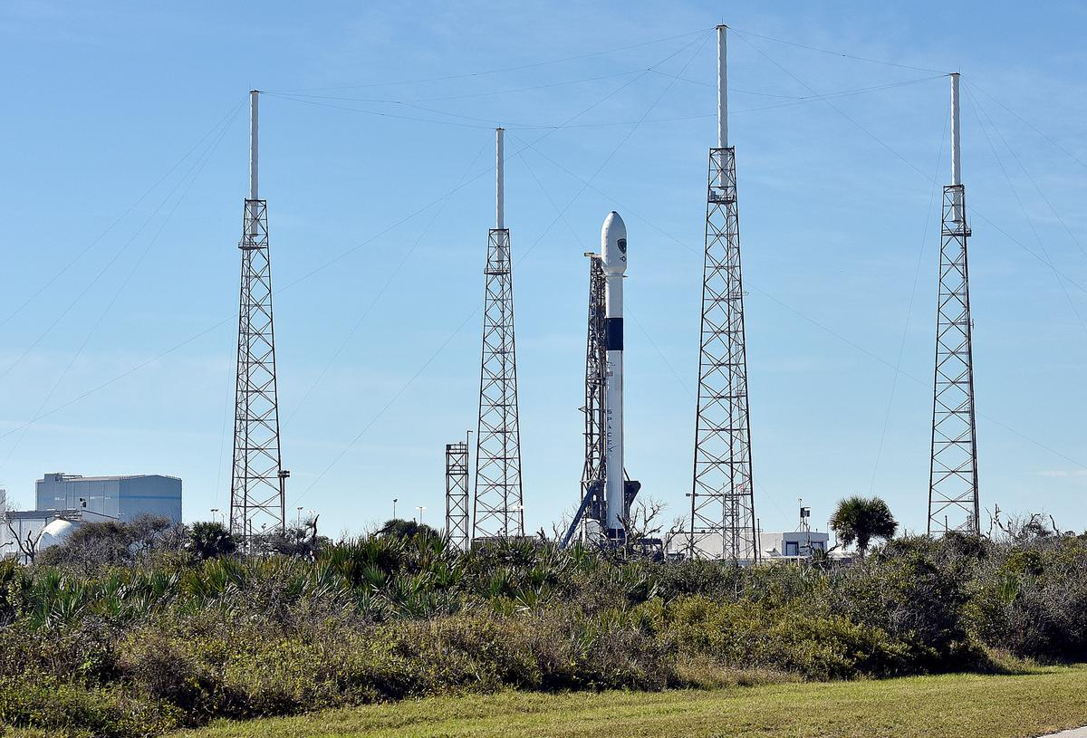 SpaceX launches first U.S. national security space mission