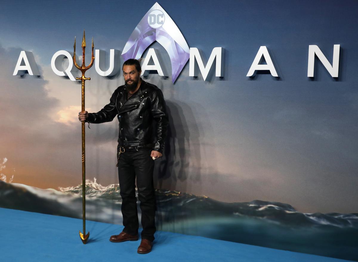 Box Office: 'Aquaman' swims to third straight victory, nears $1 billion globally