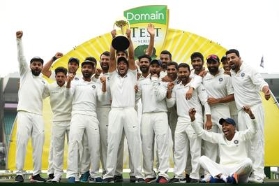 India win first-ever Test series in Australia