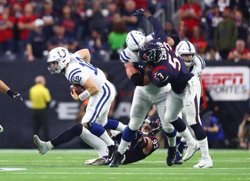 Film Study: Colts Run OL Clinic At Houston