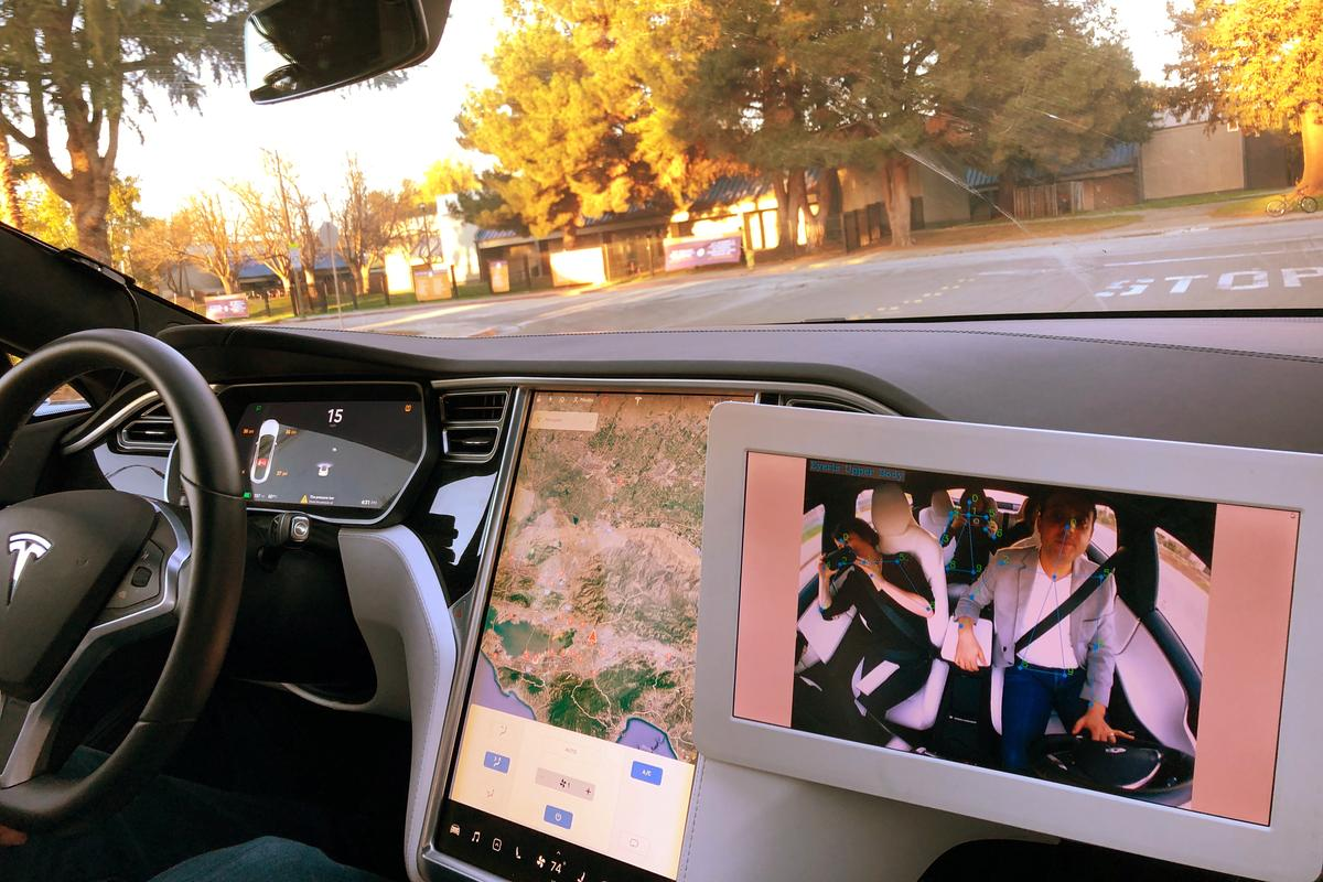 Move aside, backseat driver! New tech at CES monitors you inside car