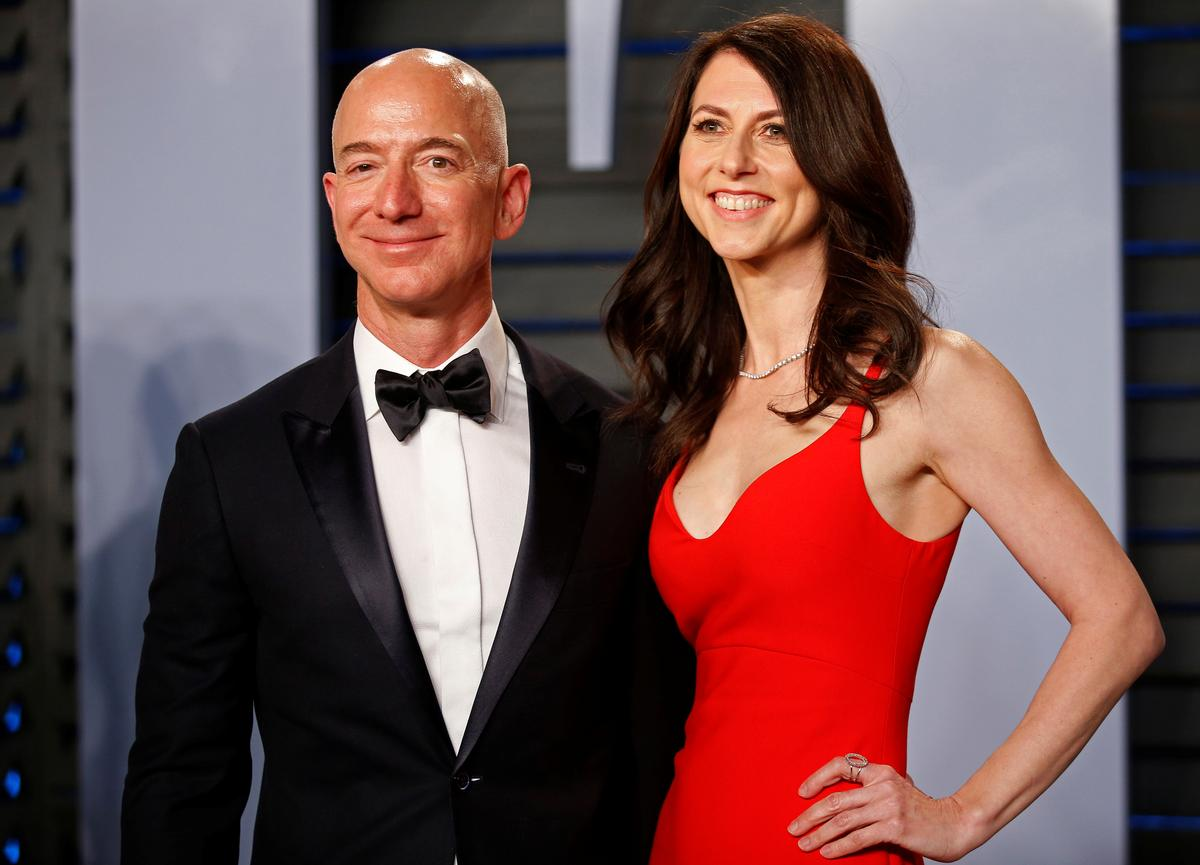 Amazon CEO Jeff Bezos and wife MacKenzie set to divorce