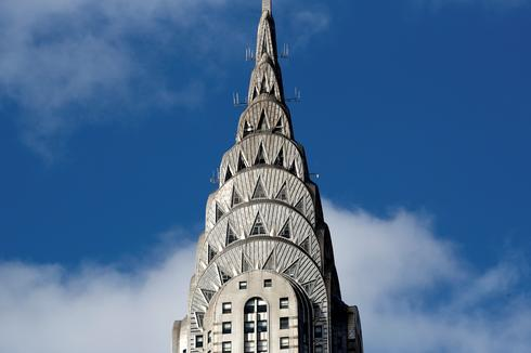 Chrysler Building on the block