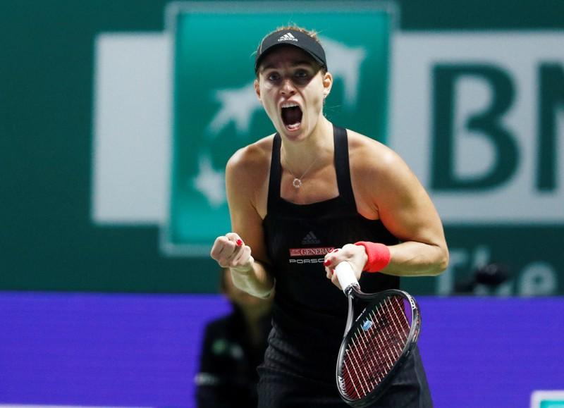 Tennis: Kerber feels solid again with new coach Schuettler