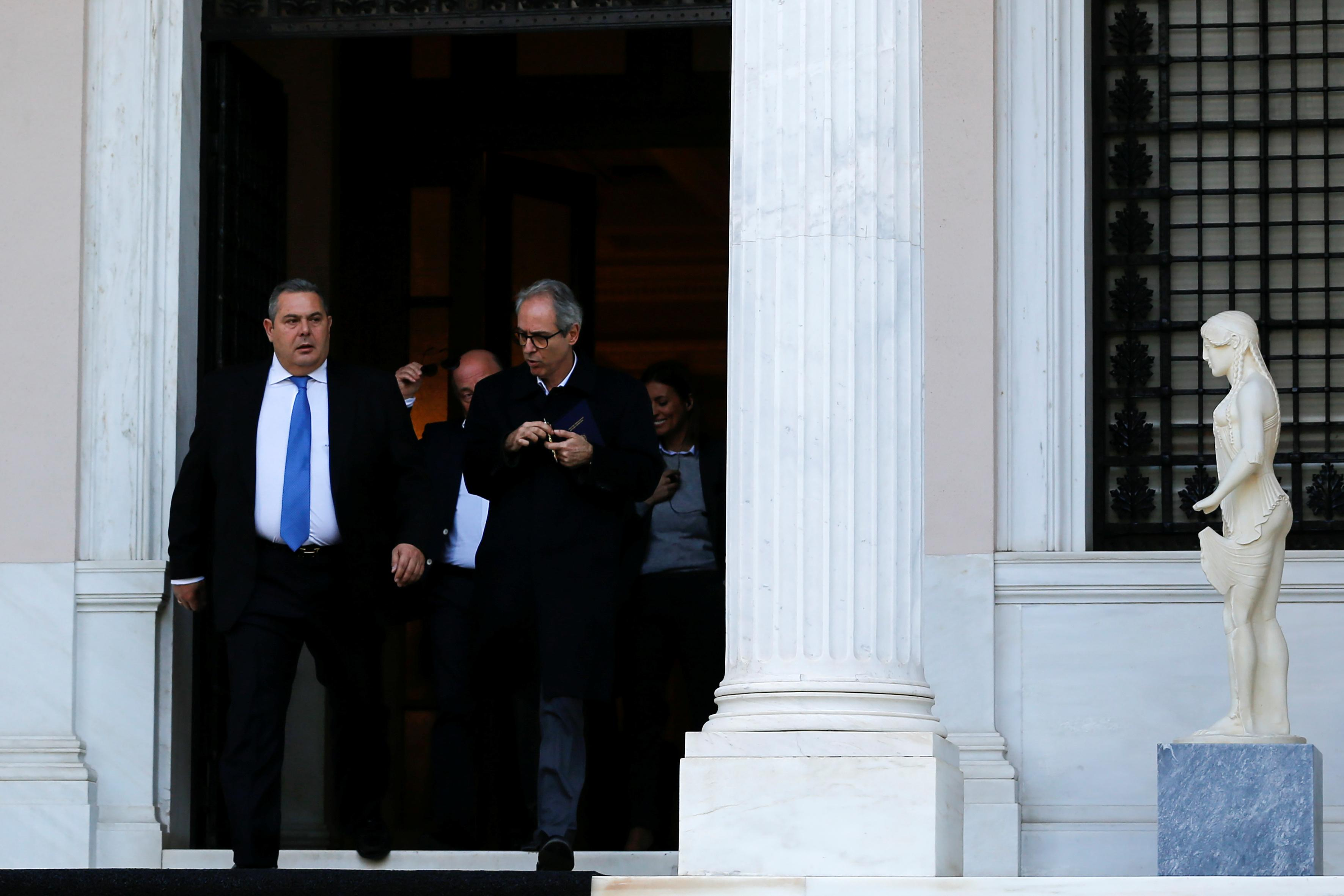 Image result for Greece's Tsipras calls confidence vote after ally quits coalition