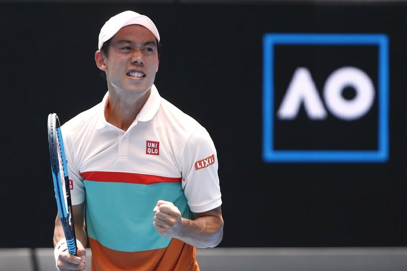 Nishikori has another great escape to reach third round