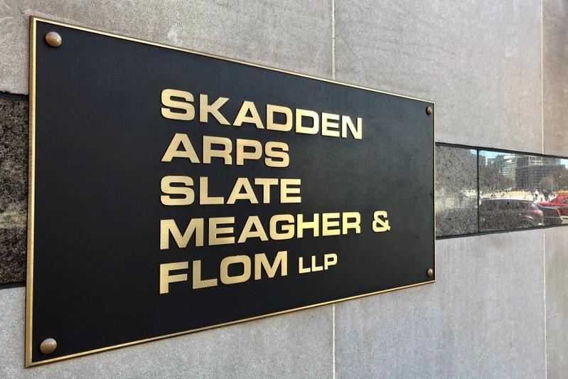 Skadden law firm, linked to Manafort, settles U.S. foreign agent...