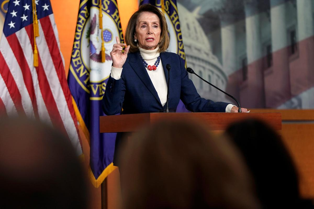 House Speaker Pelosi rejects Trump plan to reopen government