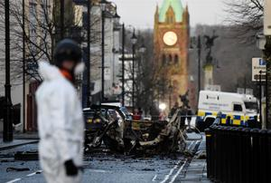 Car bomb in Northern Ireland