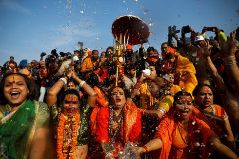 From pariah to demi-god: transgender leader a star at Indian festival