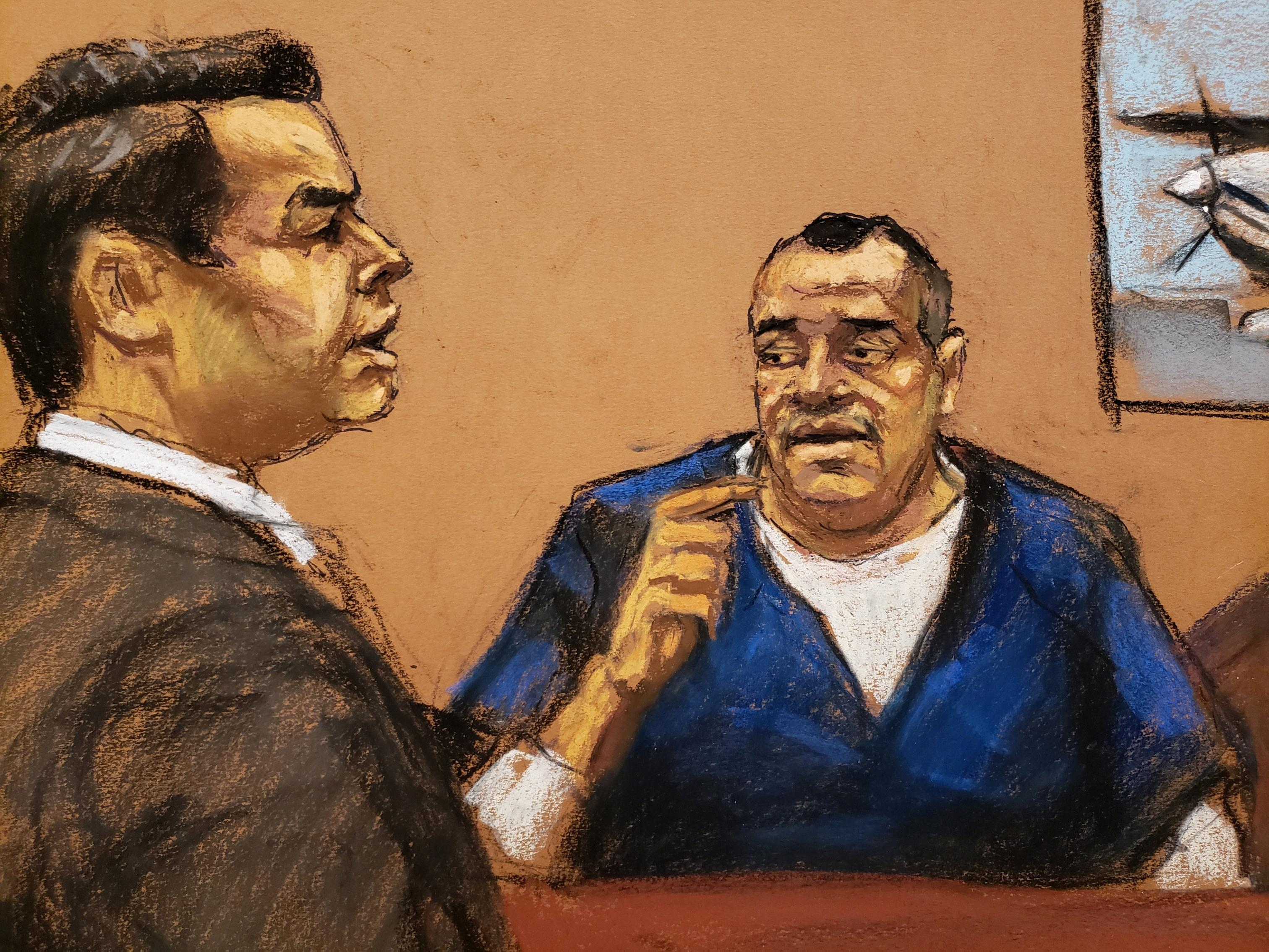U.S. trial witness says he watched 'El Chapo' murder three people