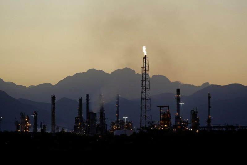 'Crude oil production from Mexico's Pemex up slightly in December' /