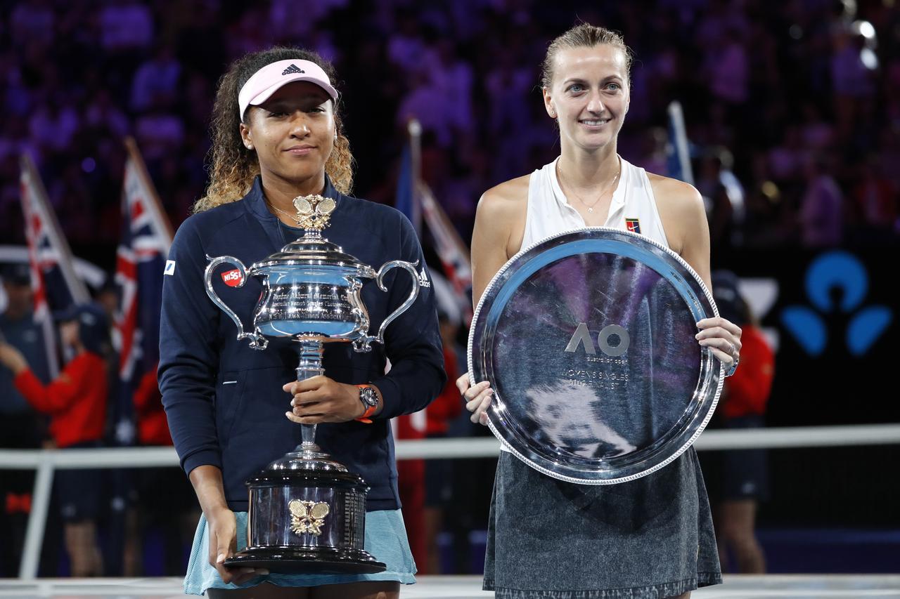 Match stats: Naomi Osaka vs. Petra Kvitova - Reuters