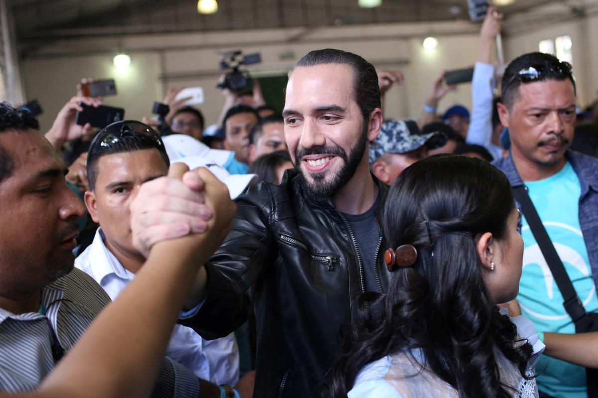 Bukele on track to win El Salvador presidency in early results