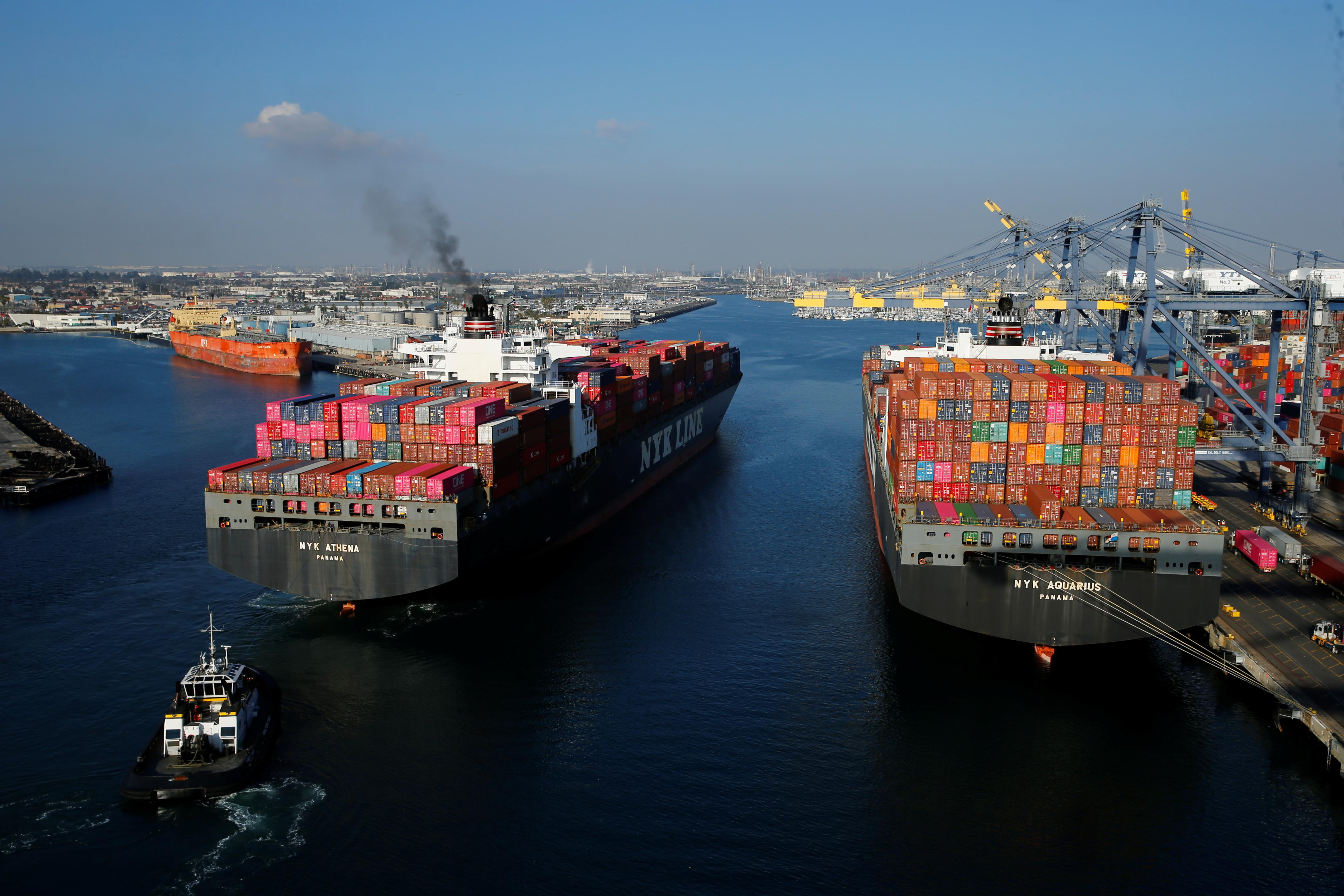 U S  trade deficit narrows in November as imports decline - my