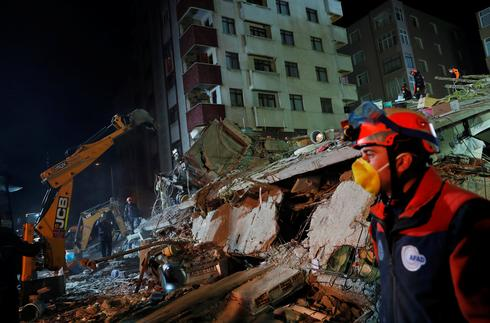 Istanbul apartment collapses