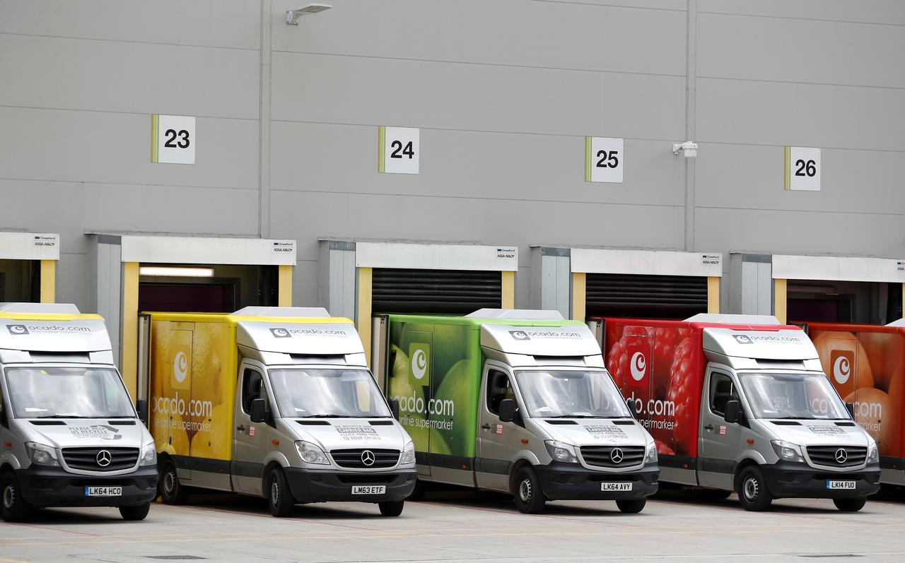 Ocado denies robots moving when firefighters tackled