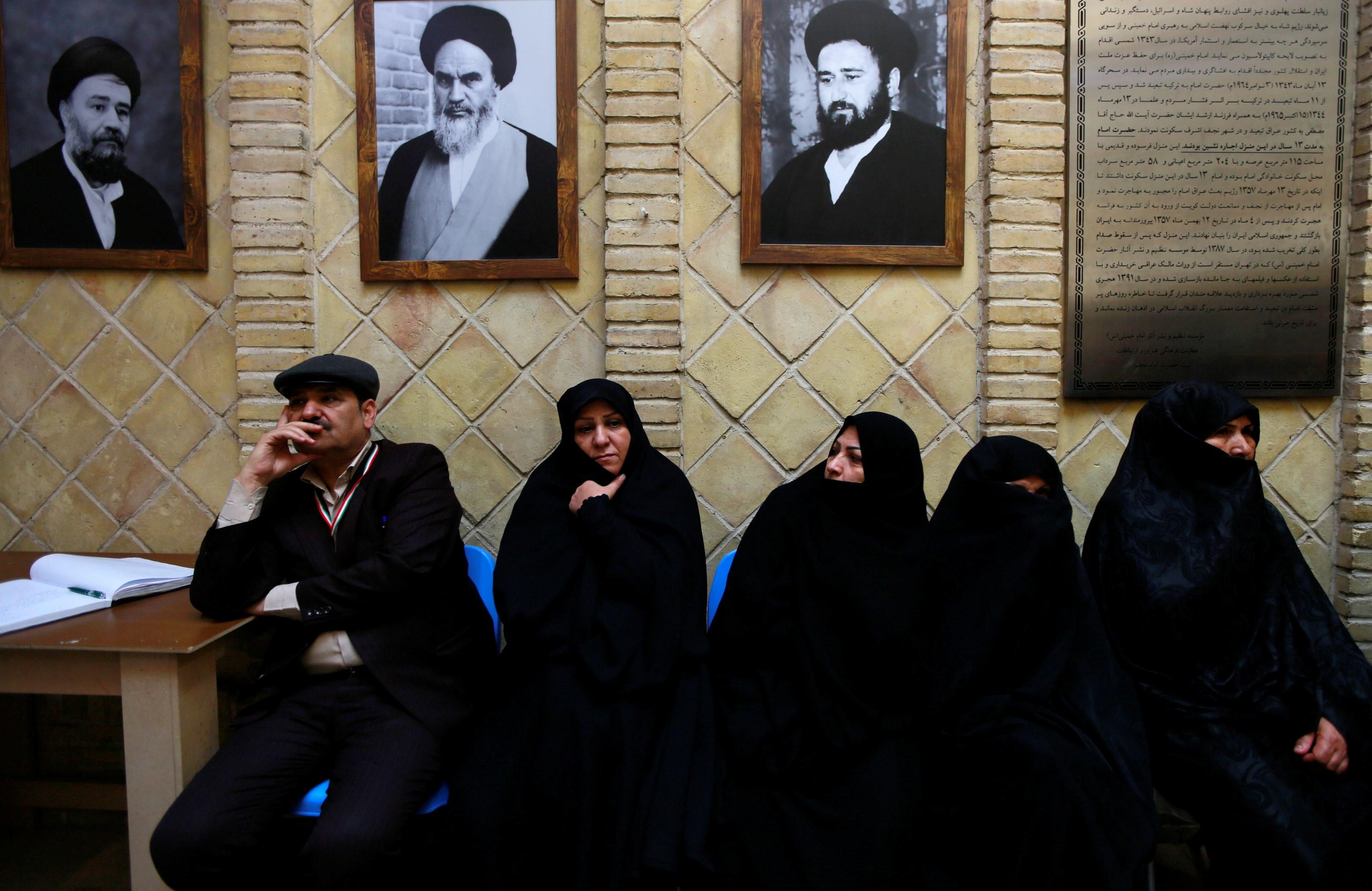 At Khomeini's Iraqi place of exile, Iranians remember revolution's leader