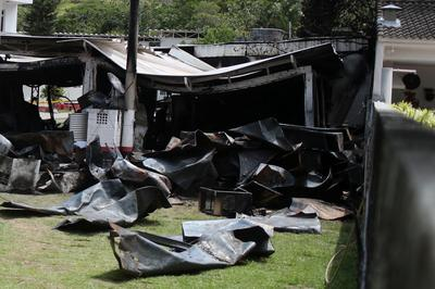 Youth players killed in fire at Brazil soccer club facility