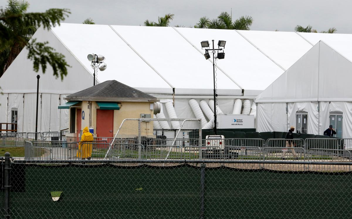 First stop for migrant kids: For-profit detention center