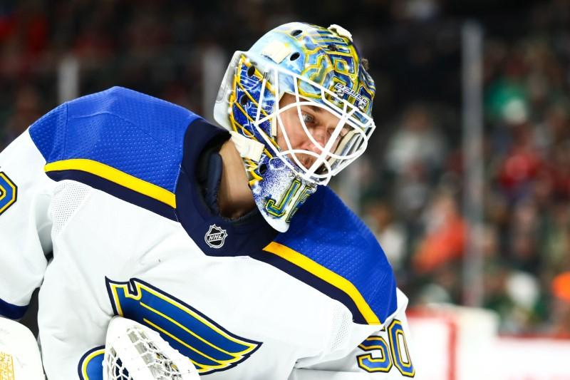 NHL roundup: Blues shut out Wild, win tenth straight