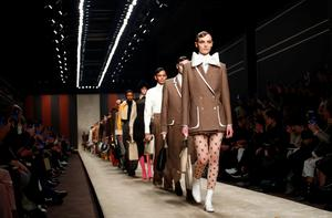 Karl Lagerfeld's final Fendi collection