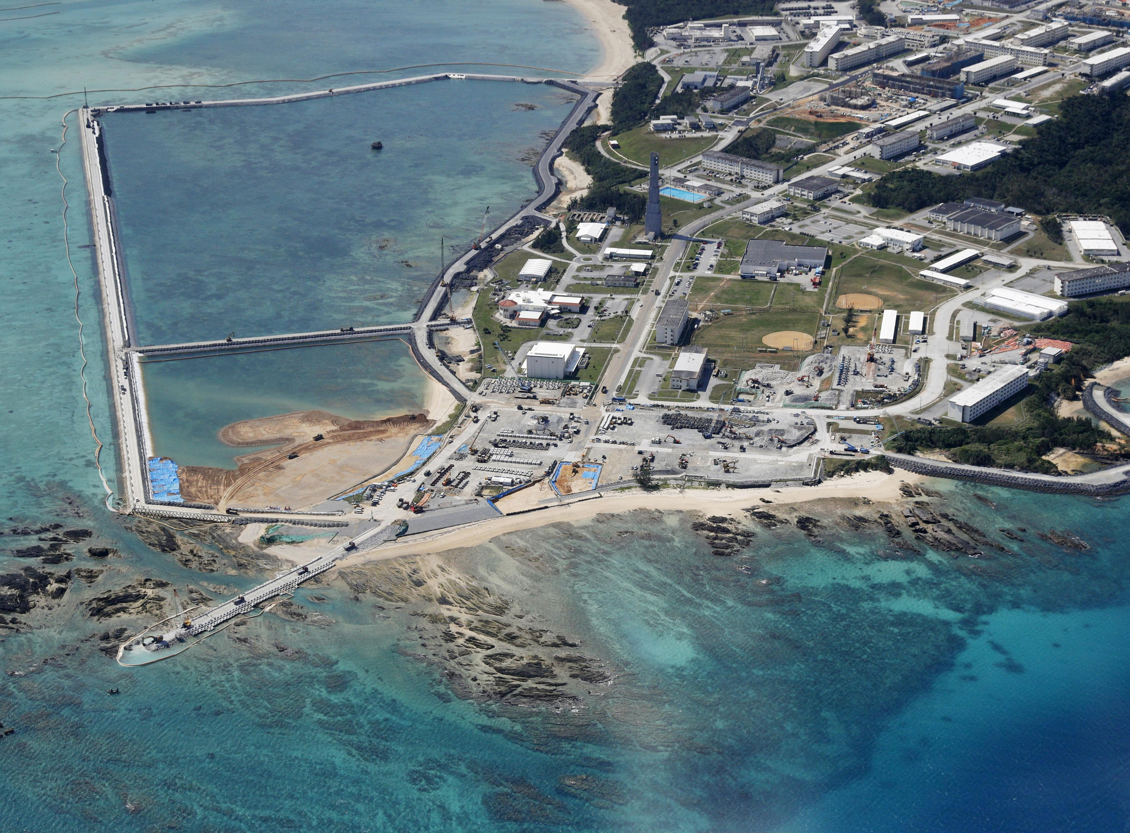 Japan to push ahead with U.S. base relocation despite Okinawa...