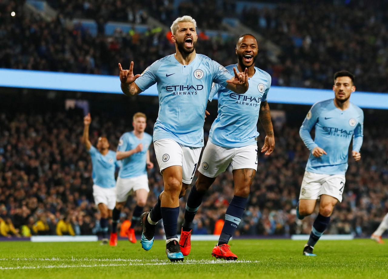 Gol Tunggal Aguero Pastikan Kemenangan Manchester City atas West Ham
