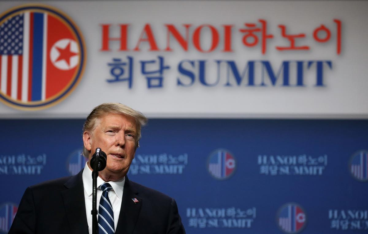 Trump says talks with Kim failed over North Korean sanctions demands