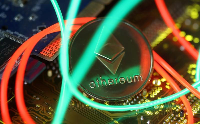 No.2 cryptocurrency Ethereum faces software 'fork'; lower supply seen