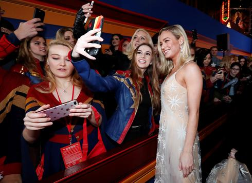 'Captain Marvel' premiere
