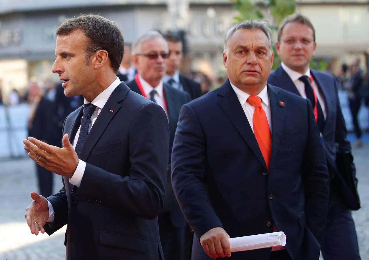 Orbán Macronnal találkozik Párizsban