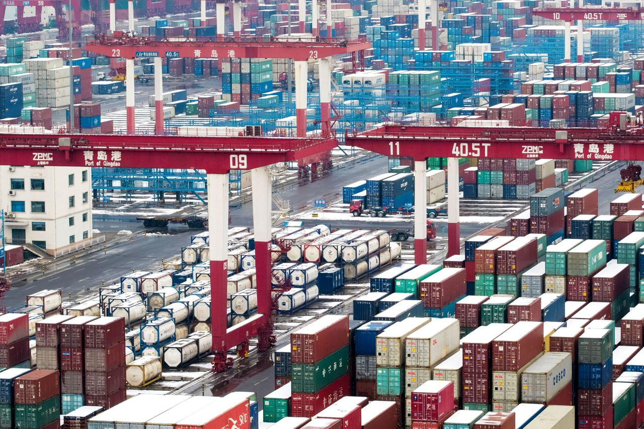 China February exports tumble the most in three years, spur