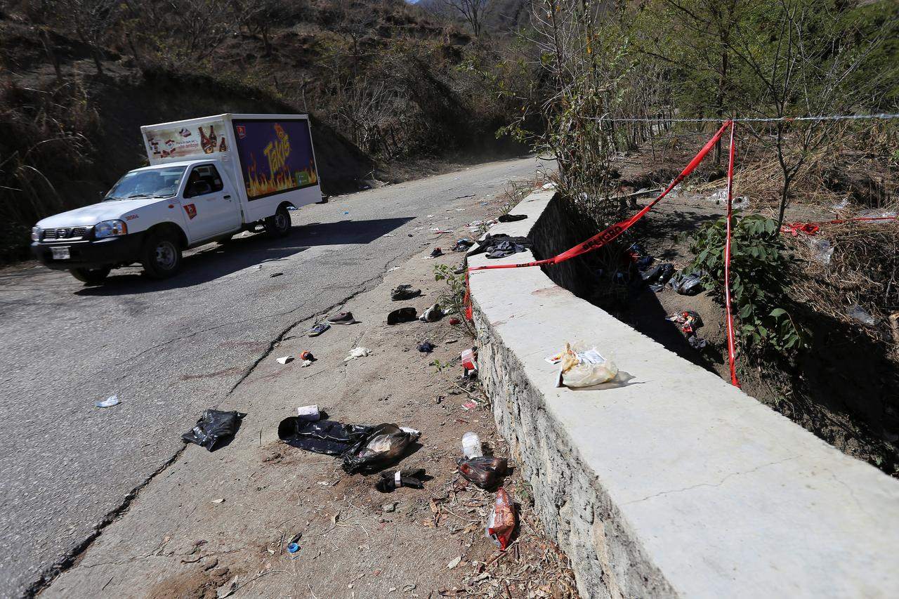 Image result for At Least 25 Migrants From Central America Killed When Truck Overturns in Mexico
