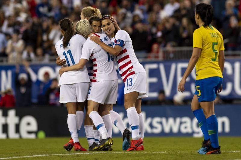 3f9b8f973 World champion U.S. women s soccer players sue federation for gender ...