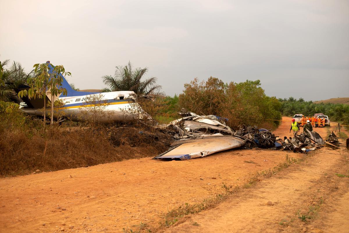Fourteen killed in Colombia plane crash: civil aviation agency