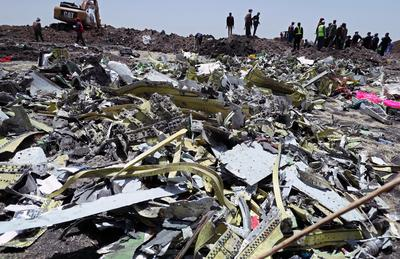 Ethiopian Airlines flight crashes