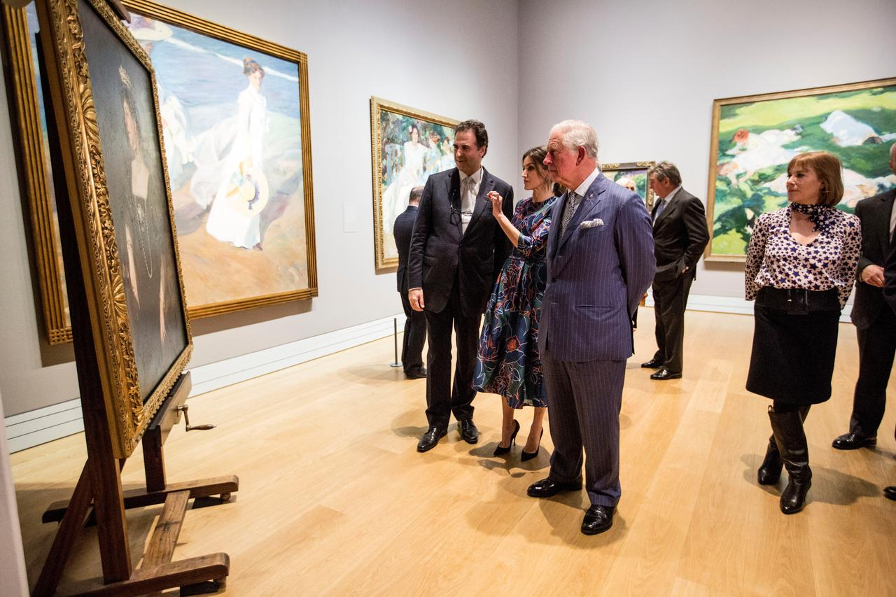 D Exhibition In London : Spanish impressionist sorolla gets royal treatment in london reuters