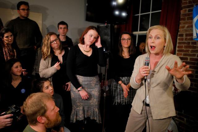 Hasil gambar untuk Senator Gillibrand formally launches presidential campaign
