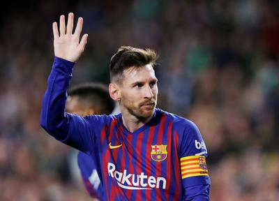 Betis fans bow to 'extraordinary' Messi after sublime hat-trick