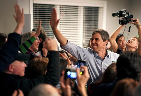 Beto O'Rourke campaigns in Iowa