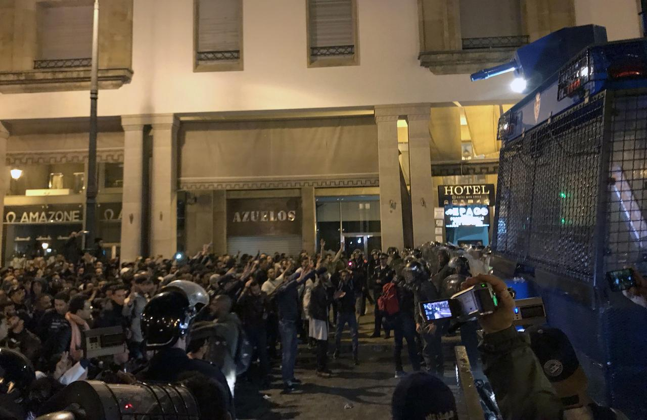 Αποτέλεσμα εικόνας για morocco teacher riots
