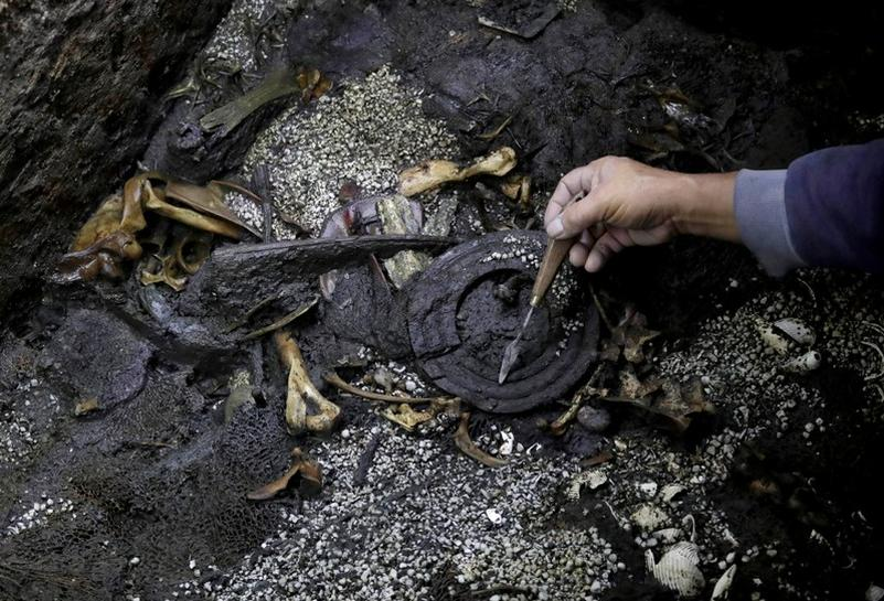 Image result for Exclusive: Aztec war sacrifices found in Mexico may point to elusive royal tomb