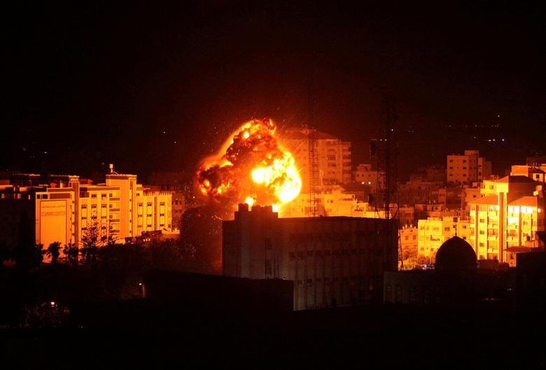 Israel Strikes Gaza After Palestinian Militants Launch Explosive Balloons