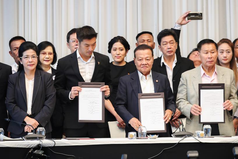 タイ貢献党が連合形成、下院過半数確保の見込みと主張 | Reuters