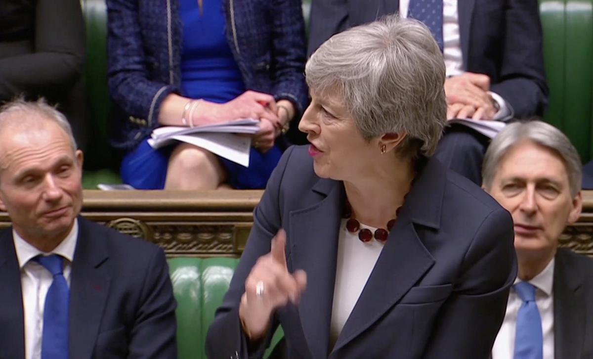 UK PM May pursuing new vote on her Brexit deal on Friday: lawmaker