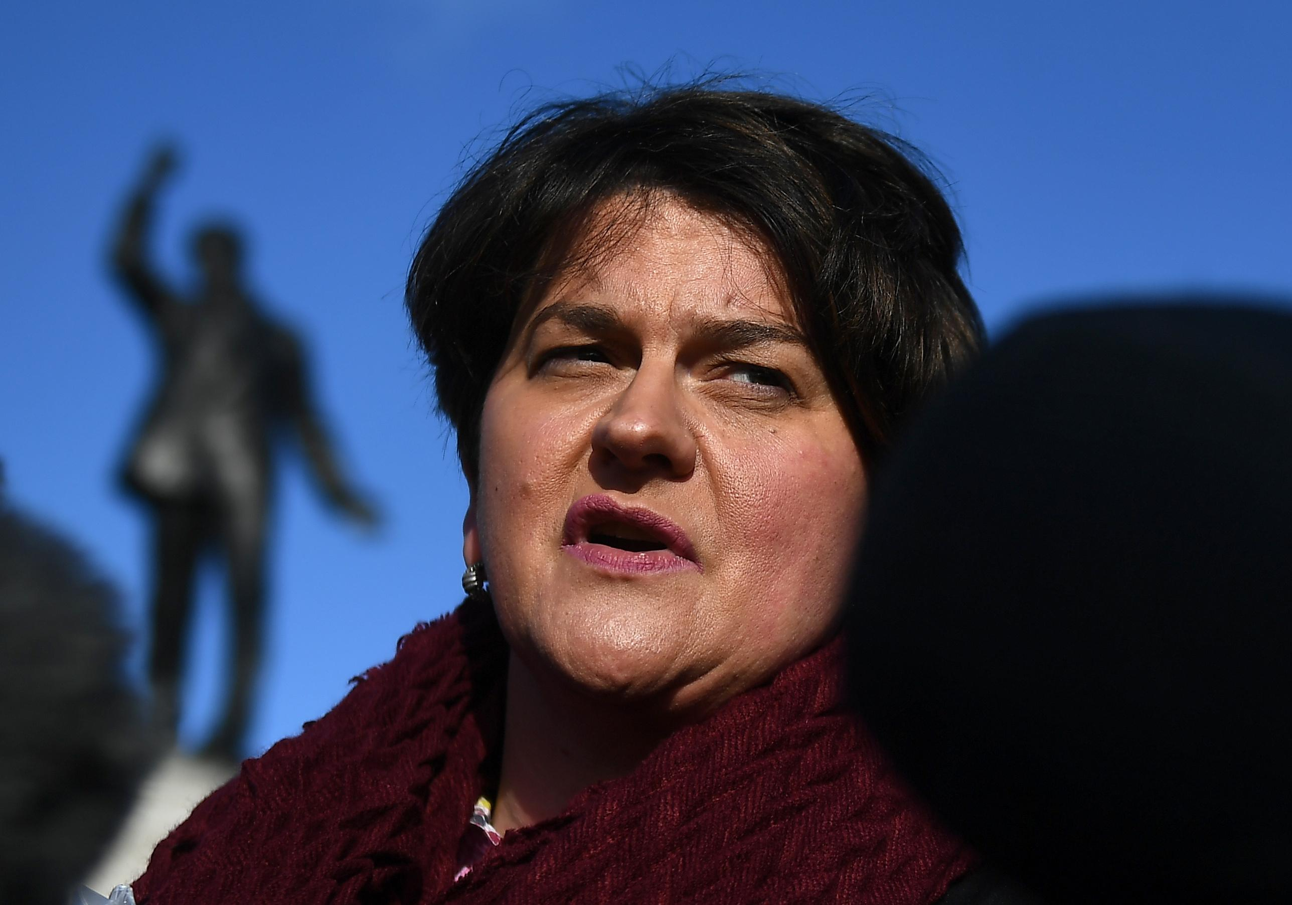 Brexit: DUP leader says abstaining on May's deal 'never an option'