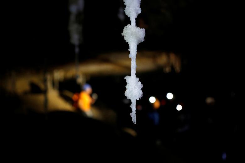 World's longest salt cave | Reuters com