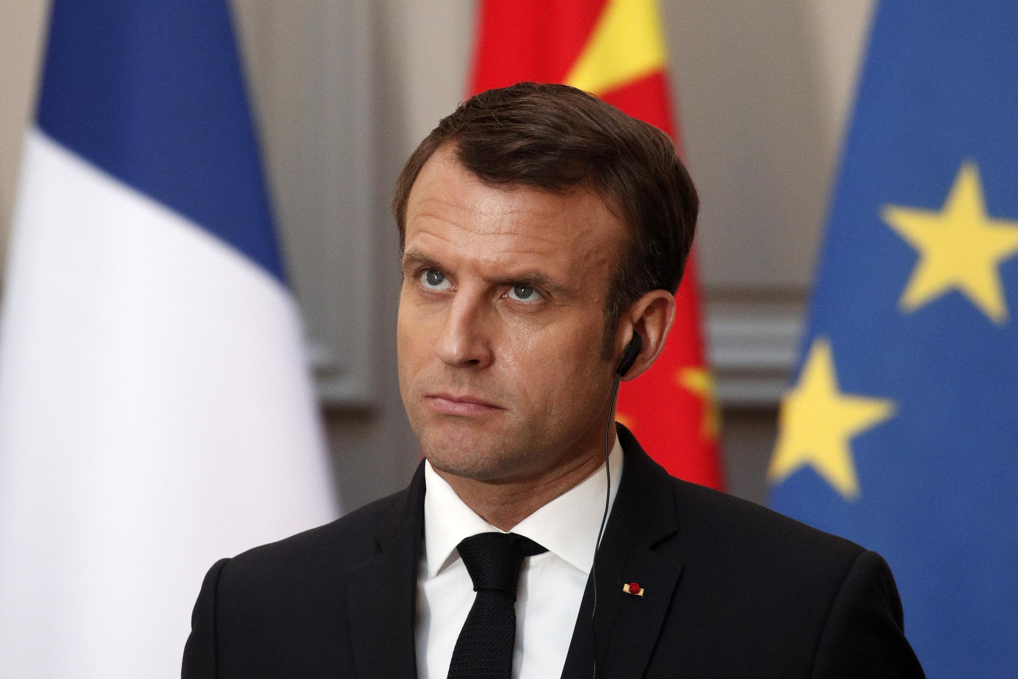 France's Macron: time to bustle final preparations for no Brexit deal